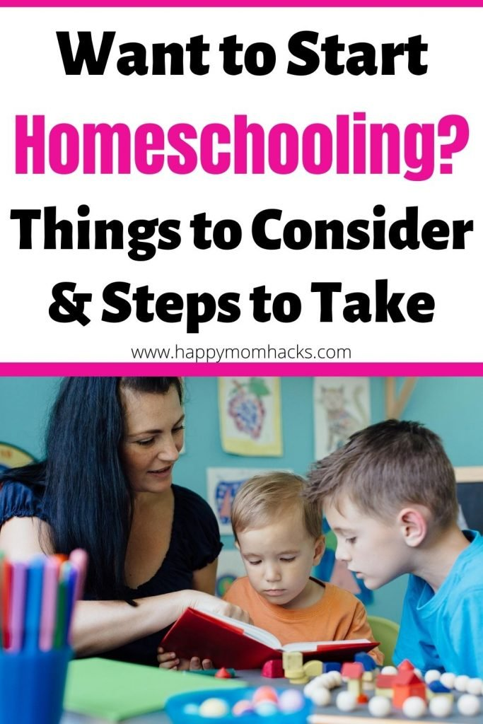 What to Know before you start Homeschooling. Best tips on where to begin with homeschool curriculum, schedules, state laws, homeschool rooms and more.  A complete guide to help parents make an easy transition to homeschooling their kids. #homeschool #homeschooling #kids #schoolathome