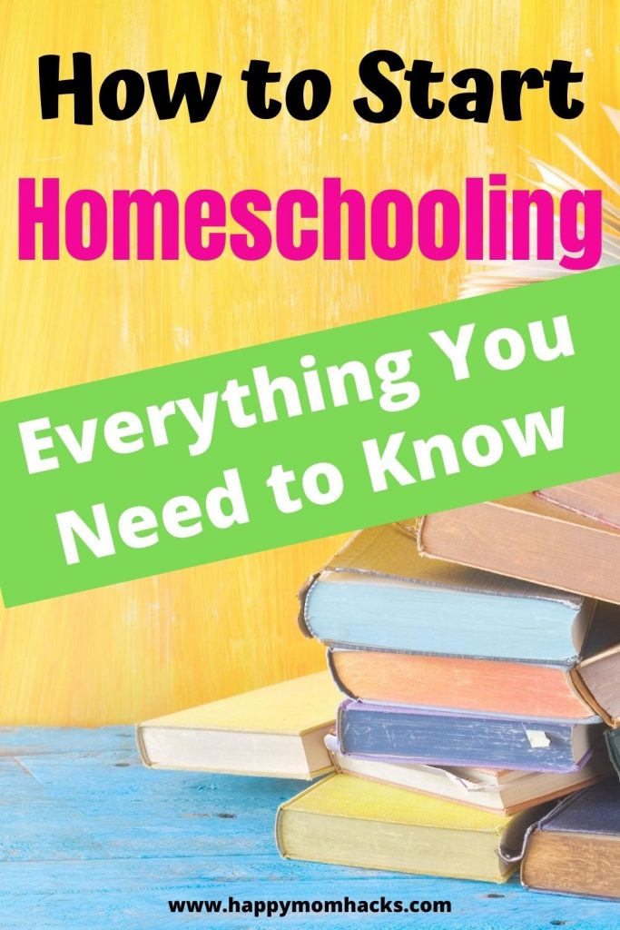 Ultimate Guide to Starting Homeschooling. All the steps to begin homeschooling your kindergartners, elementary and middle school age kids. How to research your state laws, best curriculum, local educational resources, free printables and more. #homeschooling #homeschool #middleschool #elementary #kindergarten #curriculum