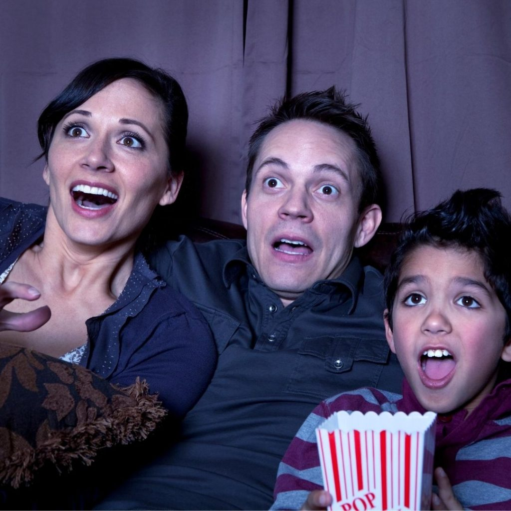 Fun Family Movie Night to spend time together as a family.