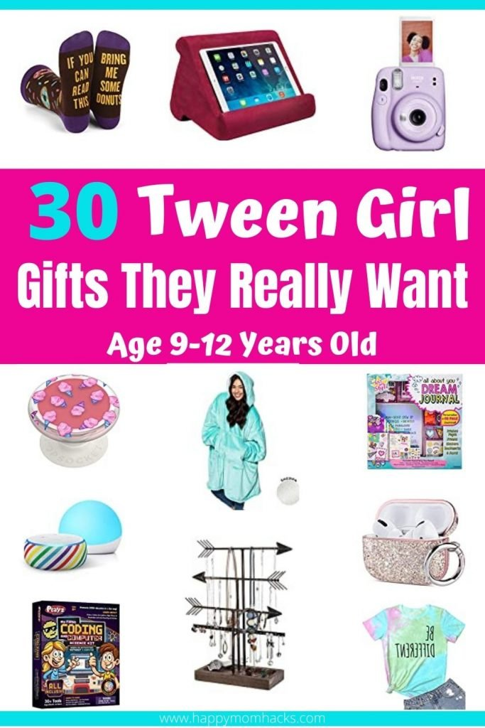 Unique Gift Ideas for Girls at 9-12 years old. Tweens are so hard to shop for! Use this gift guide to find the perfect gift the tween in your life will love for their Birthday or Christmas gift. #giftguide #giftidea #girls #tweens #christmasgifts #birthdaygifts