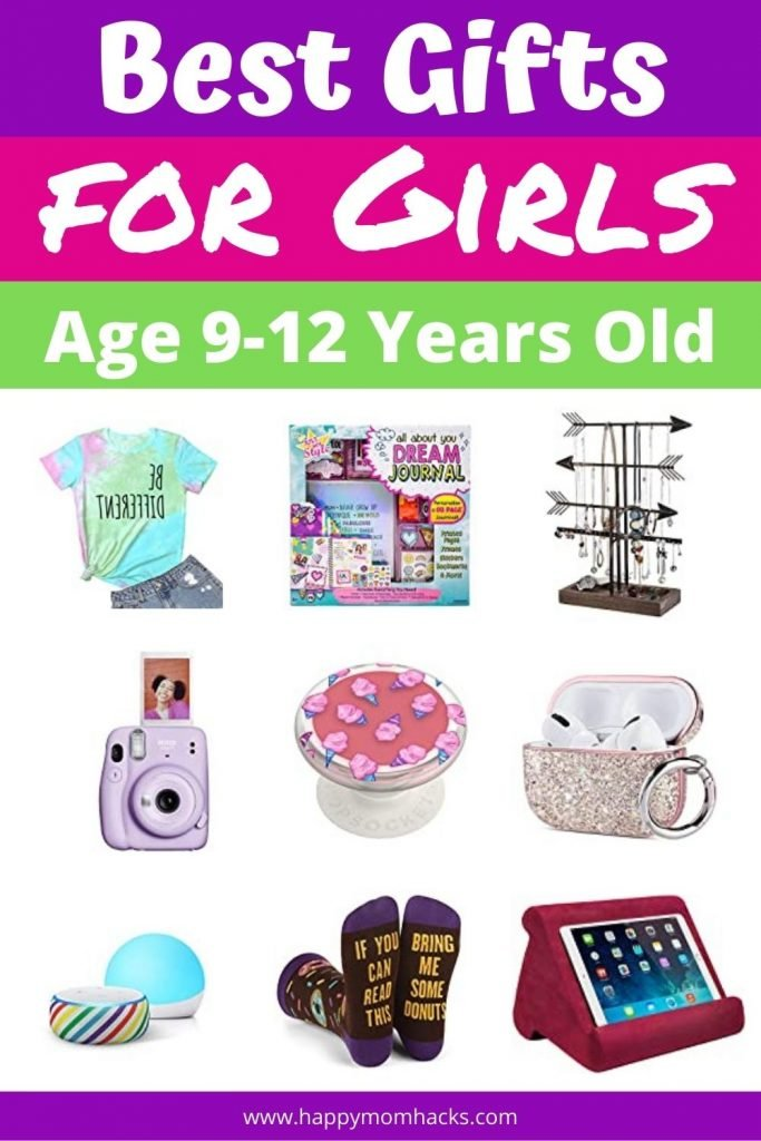Best Gift Ideas for Tween Girls age 9-12 Years old. Fun Christmas and Birthday gifts tween girls will love. Make shopping easier this year with this unique list of cool gifts that are sure to be a hit. #giftideas #gifts #girls #tweens #girlgifts #birthdaygifts #christmasgifts