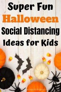 15 Fun Halloween Social Distancing Ideas for Kids. Make Halloween 2021 amazing with cool Halloween activities, crafts, games & virtual parties.