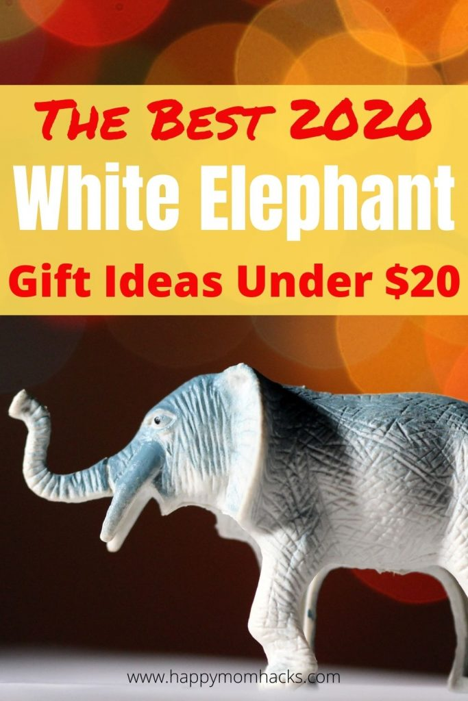 The Best White Elephant Gift Ideas in 2020. Funny gift exchange ideas for kids and adults under $20. A fun party game for your next Holiday party with friends and family.  #holidaygifts #giftexchange #whiteelephant #holidayparty #christmasparty #kidsgifts #adultgifts