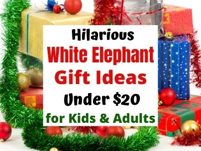 White Elephant Gift Ideas Under 20 For Kids Adults Happy Mom Hacks