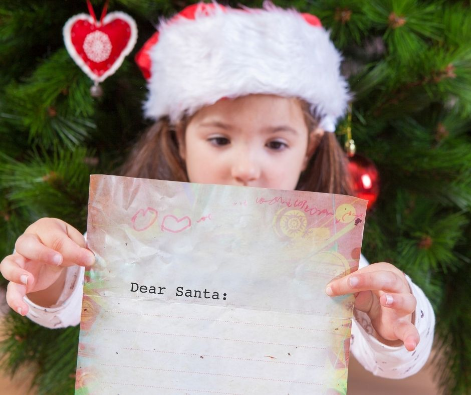 How to send a letters to Santa for Christmas from kids. #christmas #christmasletter #christmaswithkids