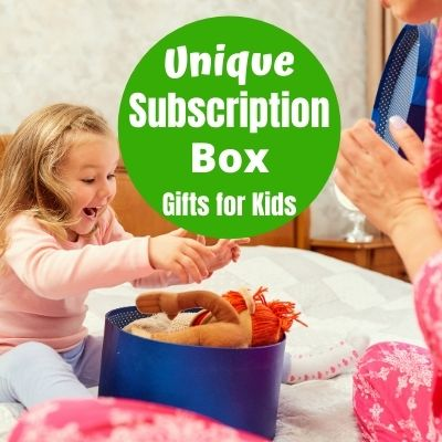 Fun & Unique Subscription Box Gifts for Kids - Kids will love these fun birthday and Christmas gift ideas.