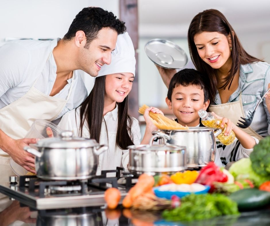 Enjoy cooking with your kids with a cooking Subscription box. A fun gift idea for kids at Christmas or Birthdays.