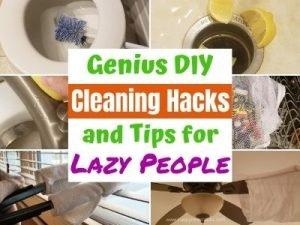 23 Amazing Cleaning Hacks, Tips & Tricks for Bathrooms, Kitchens and your whole house. You won't believe you didn't know these before! Make cleaning easier so you can get it done faster. #cleaninghacks #cleaningtips #householdhacks #diycleaningtips #householdtips