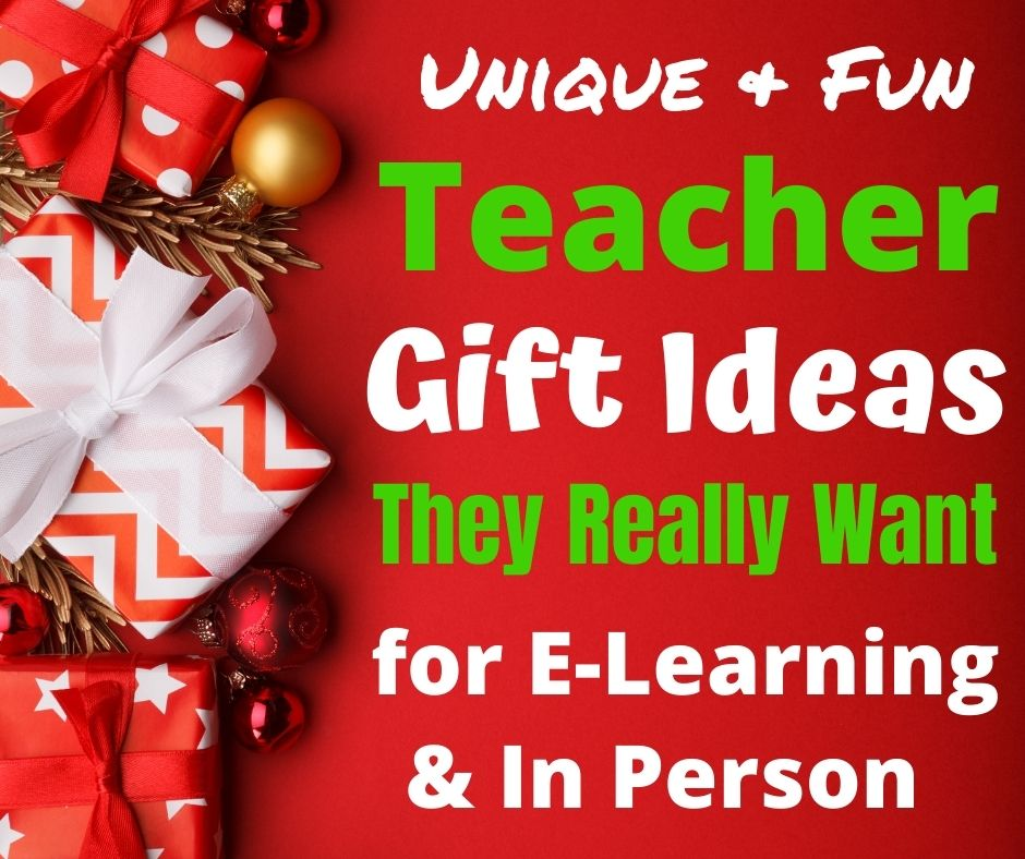 Cheap teacher appreciation Gift Ideas they really want for Christmas, Holidays & End of Year gifts. Unique gift ideas from Real Teachers to give while remote learning or in person school. Help your kids say thank you to their hard working teachers in 2020. #teachergifts #giftideas #holidaygifts #christmasgifts #teacherappreciation