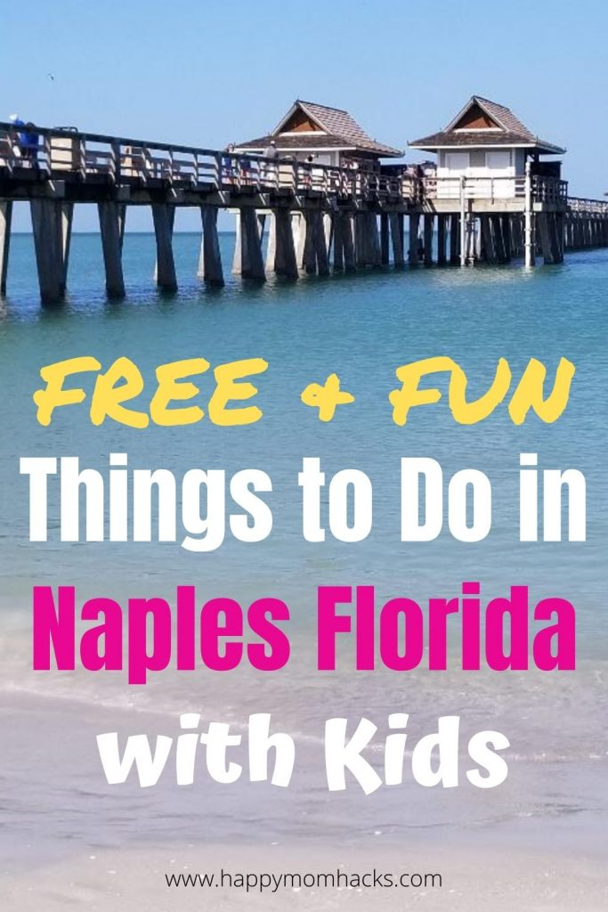 Fun Free Things to do in Naples Florida with Kids. Enjoy beautiful beaches, Naples Pier, Museums, Parks, nature preserves and more. Plus visit nearby Marco Island, Florida Everglades and Big Cypress National Preserve. Find out all the free attractions you can't miss in Naples Florida. #naples #florida #naplesfl #thingstodo #freethingstodo #kids #familyvacation