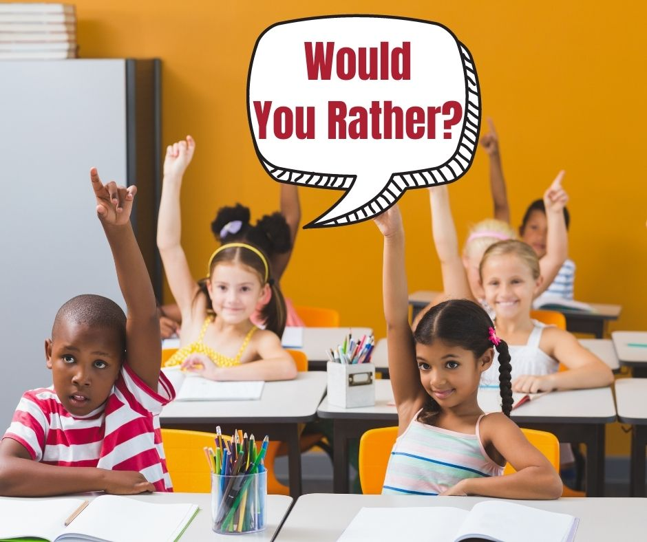 When to play Would You Rather with Kids