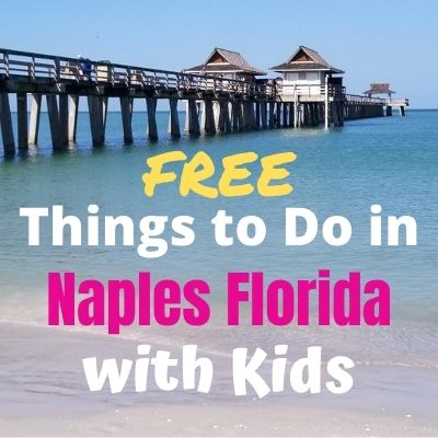 Fun free things to do with kids in Naples Florida. Visit beautiful beaches, Naples Pier, nature preserves, parks museums and more. Plus visit nearby Marco Island, Florida Everglades and Big Cypress National Preserve. #naples #free #naplesflorida #Naplesthingstodo