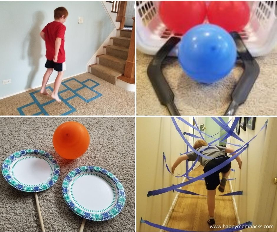 Boredom Busting Kids Activities Indoors for Winter and Rainy Days.
