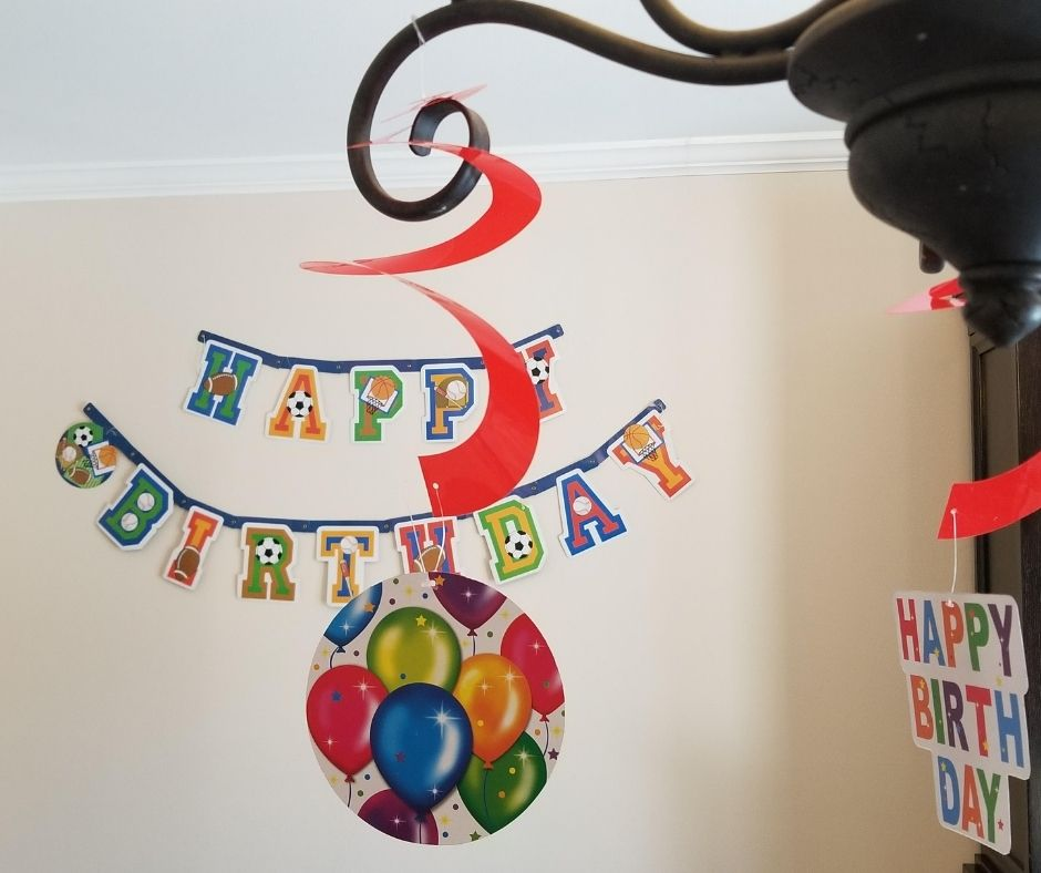 Birthday Signs for Kids is an easy family birthday tradition. Kids will love waking up to see the house decorated for their birthday.