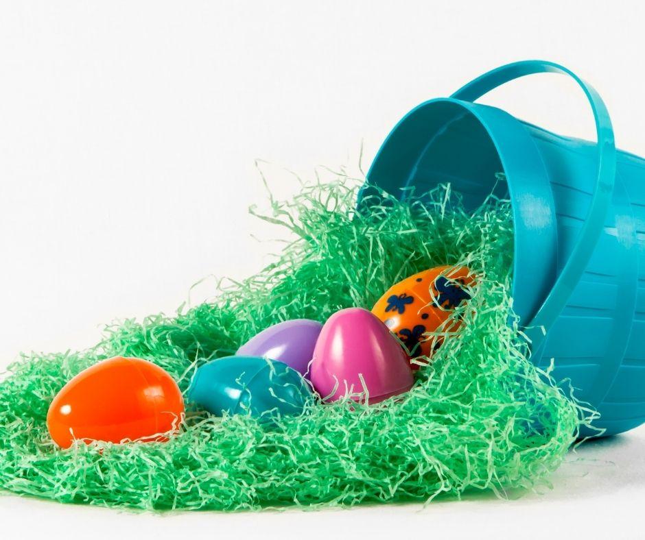 Easy Easter Egg Filler Ideas for your Easter Egg Hunt.