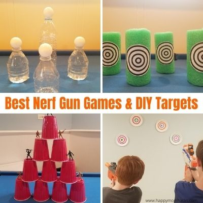 Awesome Nerf Gun Games & Nerf Targets for Kids to play at home.