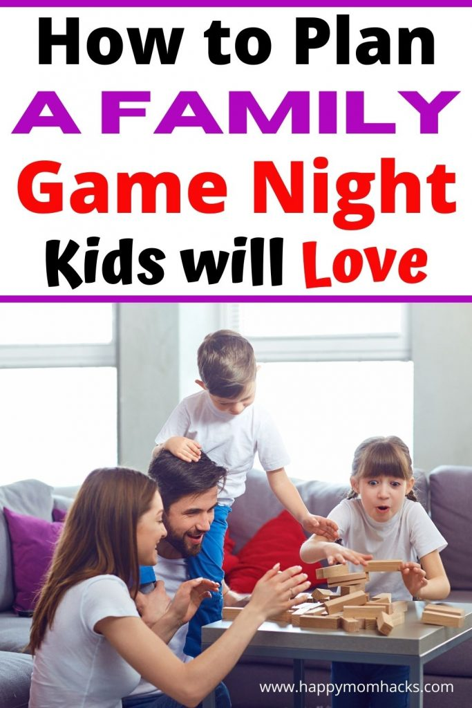 Fun Game Night Ideas for Families. Kids and parents will love these fun family games at home. Find out how to plan your game night, the best games to play & game night food ideas. Get ready for a memorable night with your kids.