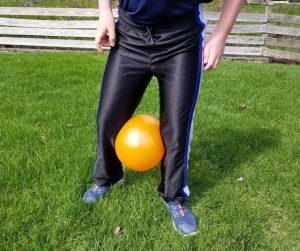 Fun Balloon Race Party Game for Kids.