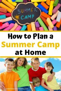 Best Summer Camp at Home Ideas to make planning easy. Save money this summer and plan your own Summer Camp for Kids. This guide will give you everything you need to plan with Theme Ideas, Camp Activities, Schedules and more. After reading you'll be able to plan an unforgettable summer for your kids.
