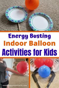 Awesome Indoor Balloon Activities & Games for Kids at Home. Stay busy on Rainy Days with cheap balloon games your kids will love. No prep time needed just pull out your balloons and start playing.