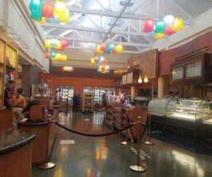 The Artist's Palette Quick Service Resturant at Saratoga Springs Resort.