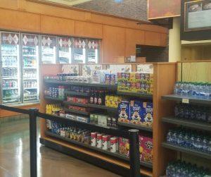 Disney Saratoga Springs Resort Quick Service Restaurant Artist's Palette grocery area.