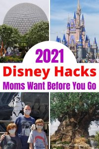 Genius Disney World Tips for First Timers. Everything you need to know before you go in 2021. Learn how to save money, rope drop, dinning at Disney, taking a break and more smart Disney Tips. Plus a free printable Disney Packing List for park bags. Use this to start planning your Disney Vacation.