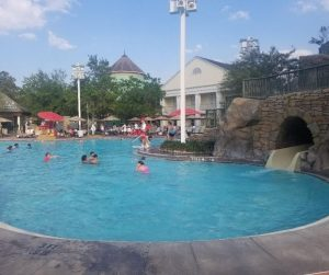 Pool Area at High Rock Spring near the Carriage House.