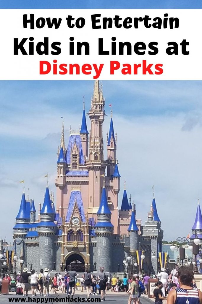 12 Fun Games to play in line at Disney parks. Keep your kids entertained while you are waiting with quick and easy games. No more whining about being bored while you wait for long rides. Check it out and have a stress-free family day at Disney.