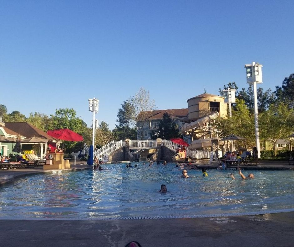 Paddock Pool at Saratoga Springs Resort
