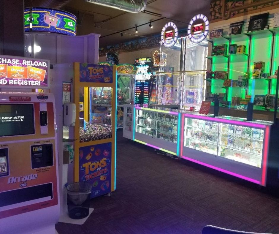 Fun Arcade at Chula Vista Hotel in Wisconsin Dells.