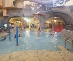 Los Rios Indoor Water Park Kiddie Pool at Chula Vista Resort in Wisconsin Dells. Perfect place for small children to play in the water indoors.