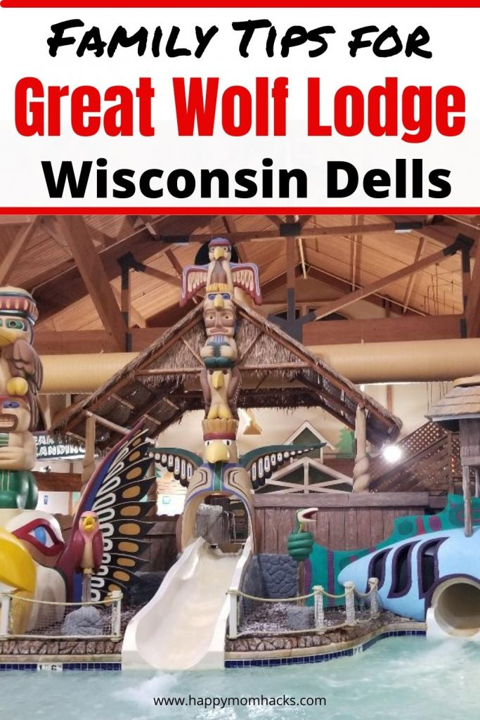 Top Family Tips for Great Wolf Lodge in Wisconsin Dells. A complete review of the hotel rooms, water park, restaurants, activities, MagiQuest and more. Plus fun Wisconsin Dells Attractions to visit when you need a break from the water park. Everything you need to know before you go.