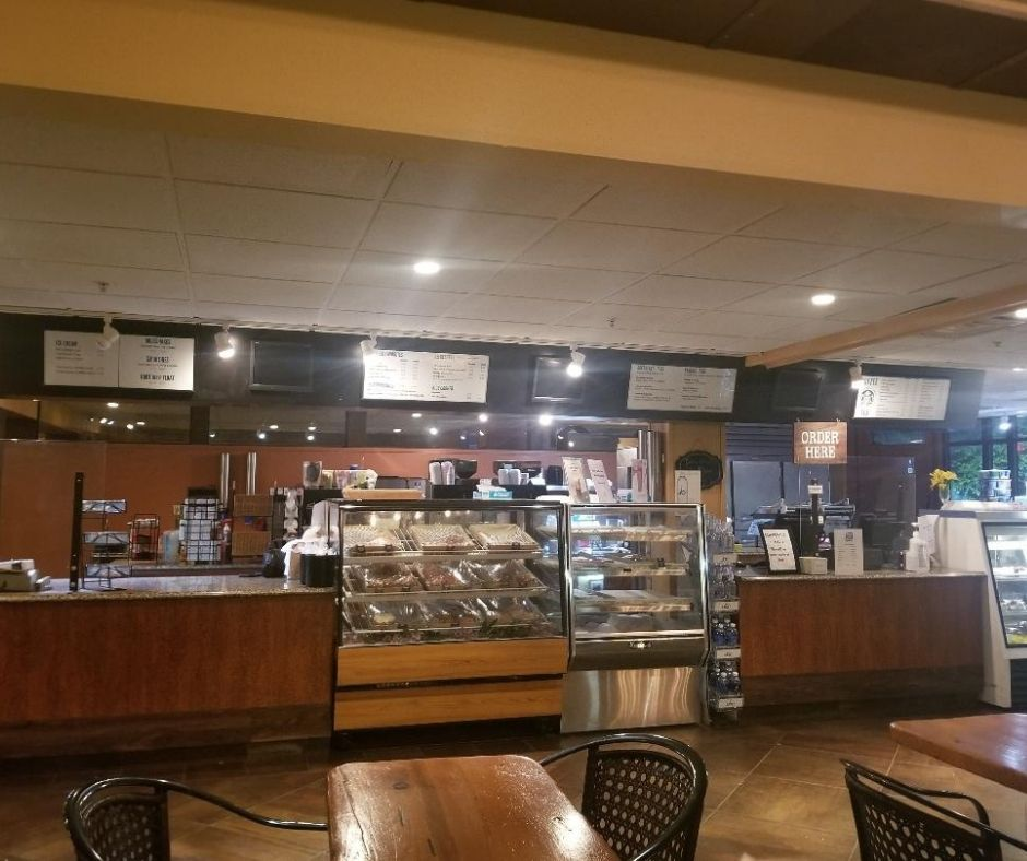 Quick Serve Restaurant at Chula Vista Resort. Market Fresh To Go has fast breakfast and lunch options.