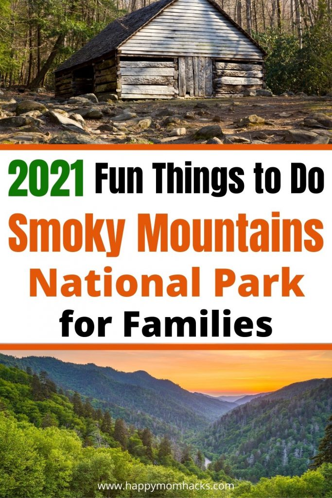 2021 Things to Do in Smoky Mountains National Park in Tennessee. Fun family hikes, drives on Cades Cove, Clingmans Dome, junior rangers program and more. Plus things to do in Gatlinburg & Pigeon Forge TN. A complete guide to your family vacation in the Great Smoky Mountains.