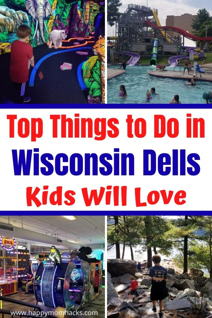 Best Attractions & Things to Do with Kids in Wisconsin Dells. Fun activities for families in the summer and winter months. Enjoy the water park resorts and so much more from Downtown Wisconsin Dells to Duck tours, horseback riding, Obstacle courses and more. Plus skiing and snow tubing in the winter. Use this guide to plan the Ultimate family vacation in Wisconsin Dells.