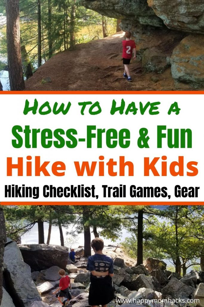 Make Hiking with kids stress-free & fun with simple hiking tips and tricks. Learn fun trail games with a free printable nature scavenger hunt to keep kids involved on the trail. Find the Best hiking gear to make hiking easy and a free printable Hiking Checklist to remember everything you need. A complete parents guide to hiking with kids from local forest preserves to National parks you'll be ready.