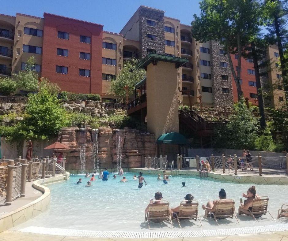 Fun Wave Pool at Chula Vista Resort outdoor waterpark for kids.
