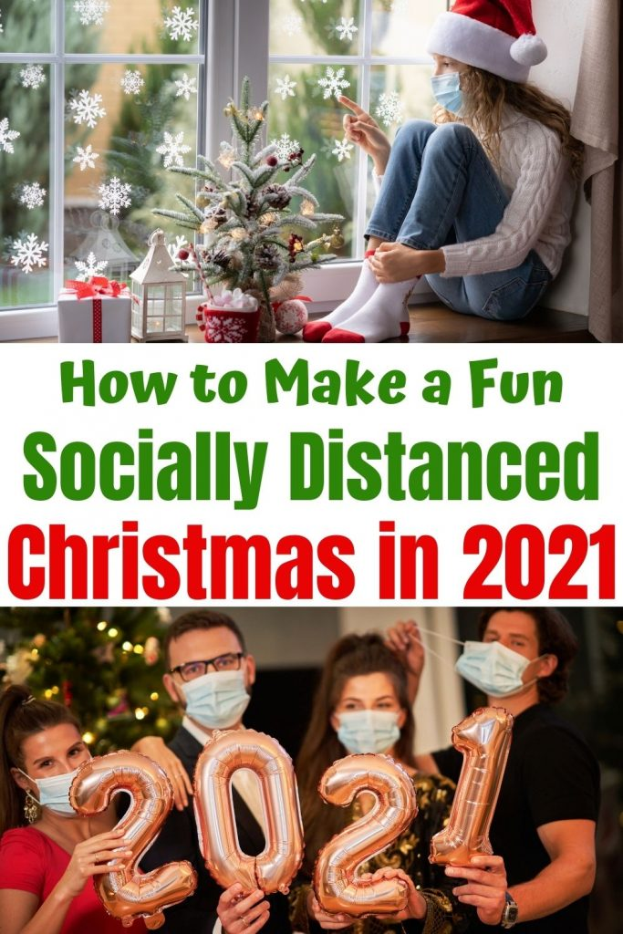Fun Socially Distanced Christmas Activities & Ideas families will love. Easy and memorable ways to celebrate the holidays at home. Plan new Christmas traditions and Zoom Holiday parties. Get inspired with tons of things to do this Christmas at home with your kids.