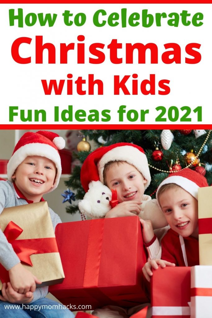 15 Fun Christmas Activities & Ideas for Families at home. Socially Distanced ideas for a memorable & safe holiday. Find Christmas games, new traditions, zoom ugly sweater parties, Christmas scavenger hunts and more. Get inspired to celebrate a fun Christmas at home with your kids.
