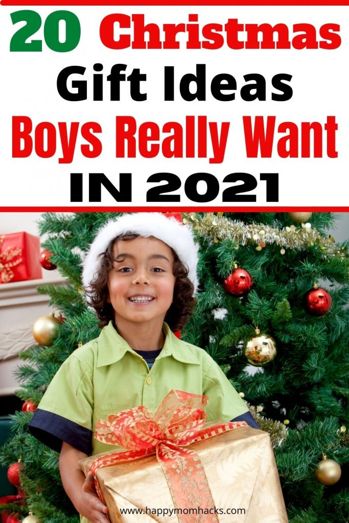 Hottest Boys Christmas Gift Ideas for 2021. Cool holiday gifts your 10-12 year old tween boy will be so excited to open on Christmas Morning. Your sure to find the perfect gift in our updated Gift Guide for Boys with everything from electronics to games. So stop stressing out gifts this year and check it out!