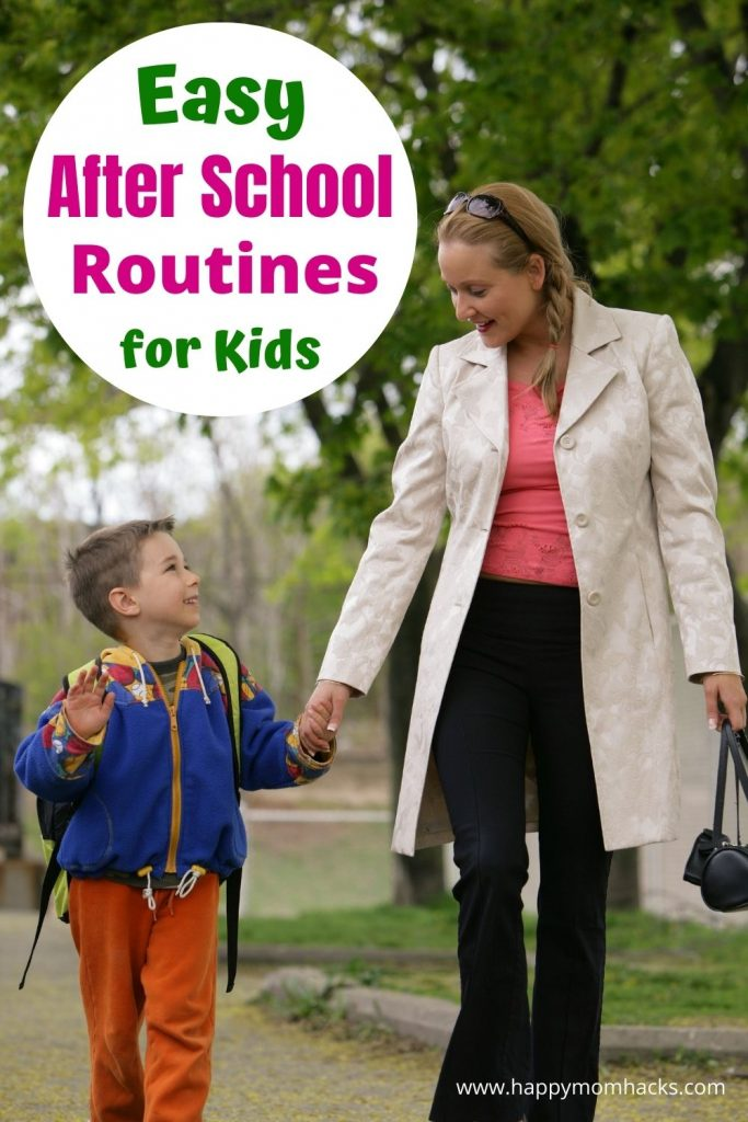 How to Make an After School Routine & Schedule for kids. Use the FREE printable After School Checklist to get you started and learn how to create a daily routine that will work for your family. It's going to make your day so much less chaotic and disorganized. So get started today with your new After School Routine.