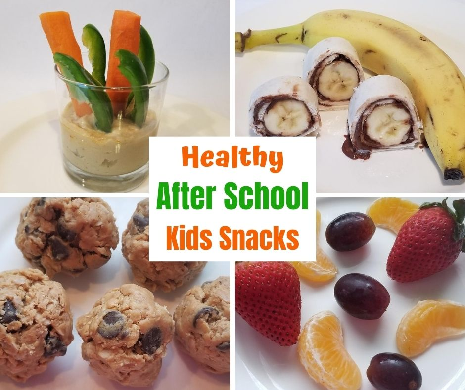 Kids will love these healthy after school snack options they can grab themselves.
