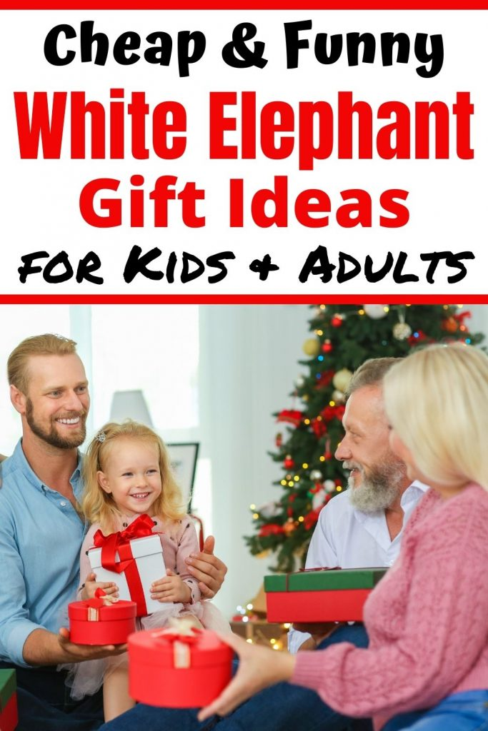 Find the perfect White Elephant Gift Ideas for Kids & Adults this Christmas. Even though all the gift ideas are under $20 everyone will be fighting over them. Check it out and bring the coolest presents to your Christmas & Holiday Party Gift exchange.
