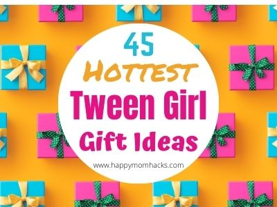45 Gifts for Tween Girls age 9-12 year old's. Fun tween girl Gift ideas for Birthdays and Christmas. Your sure to find the perfect gift idea for this hard to shop for picky age.