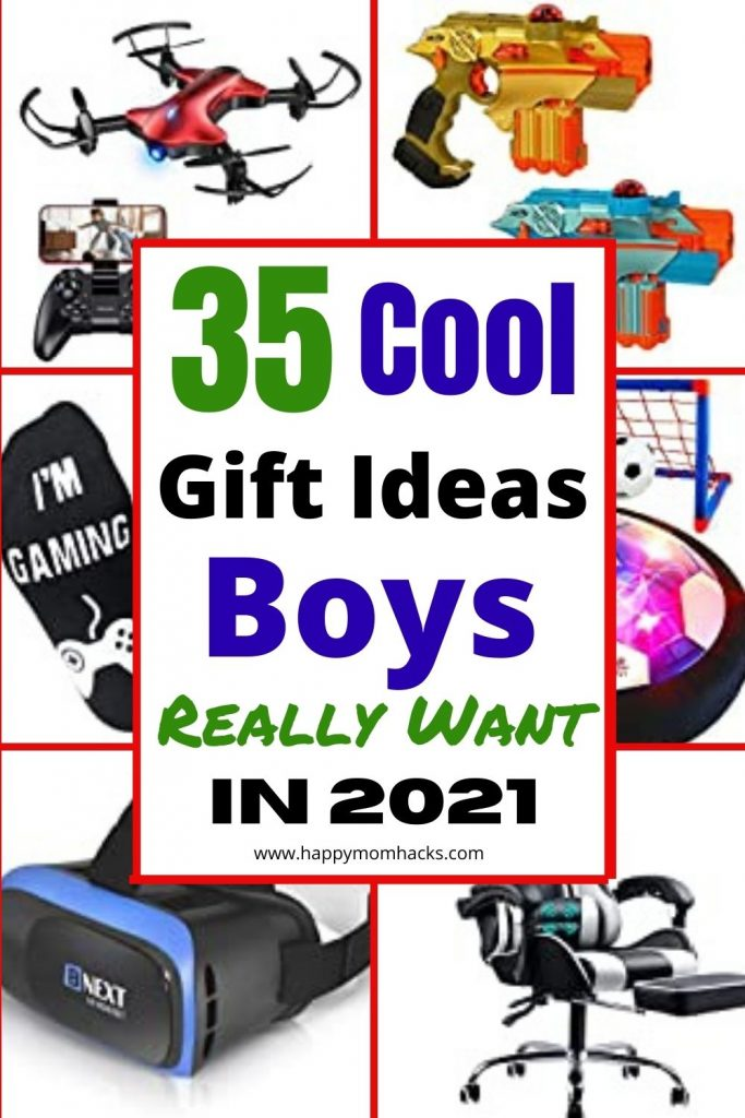 Best Gifts Ideas for Boys Age 10-12 years old for Birthdays and Christmas. Find a gift they really want with ideas for cool electronics, games and STEM activities. Your sure to find the perfect gift for tween boys.