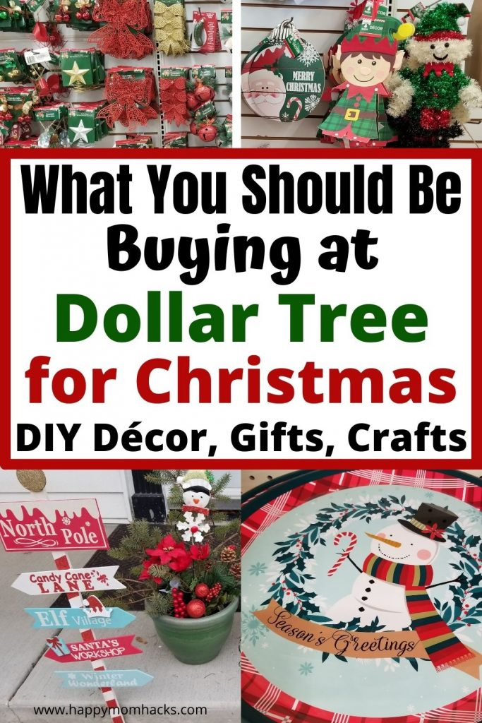 Save Money this Christmas with Dollar Tree Christmas Decorations, Gifts, Stocking Stuffers, holiday crafts & more. Everything you should be buying in 2021 at Dollar Tree from fun holiday towel to serving trays, Christmas ornaments, wrapping paper, & cute holiday signs. Decorate your whole house indoors and outdoors with cute Dollar Tree Christmas Décor. You'll be amazed what you can do with $1!
